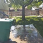 Backyard patio installation in Salt Lake City, Utah