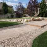 Holladay Utah rocks and gravel installation after