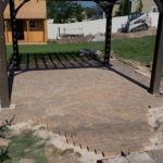 South Jordan Utah Landscaping Pavers and Pergola