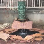 Outdoor Fountain Salt Lake City Utah Landscaping
