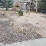 Park City Utah full xeriscape installation