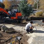 Park City Utah Landscape Pavers Installation
