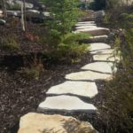 Park City Utah rock pathway landscaping