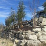 Park City Utah terraced landscape installation