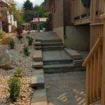 South Jordan hardscaping paver steps - Utah landscaping